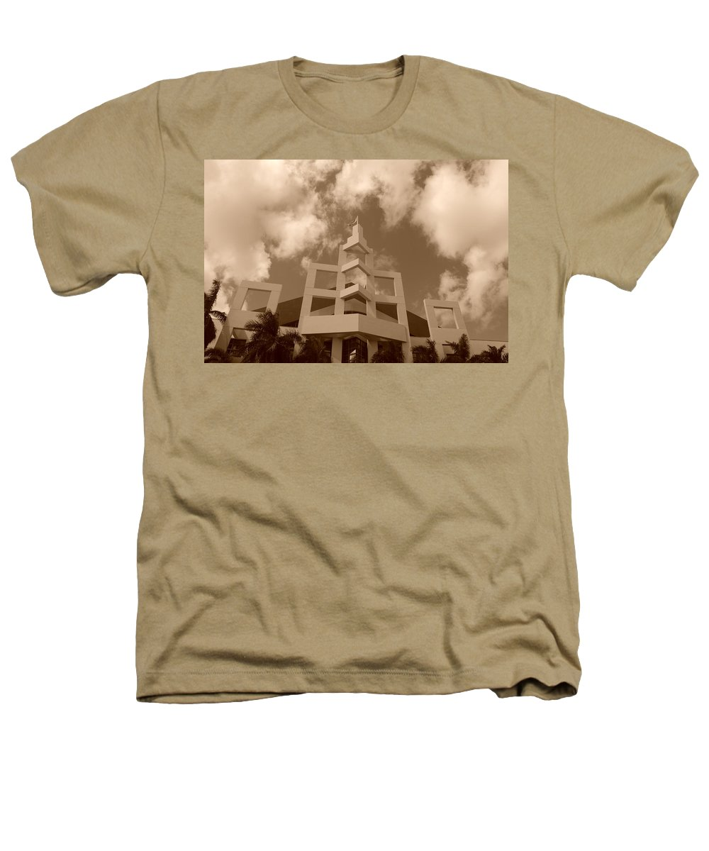 Architecture Heathers T-Shirt featuring the photograph Squares In The Sky by Rob Hans