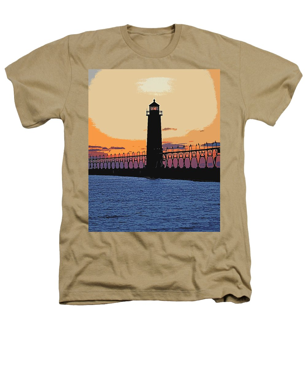 Light House Heathers T-Shirt featuring the photograph Standing Sure by Robert Pearson