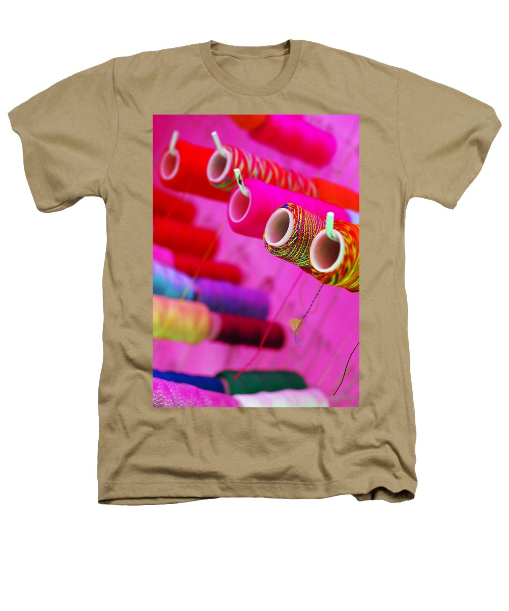 Color Heathers T-Shirt featuring the photograph String Theory by Skip Hunt