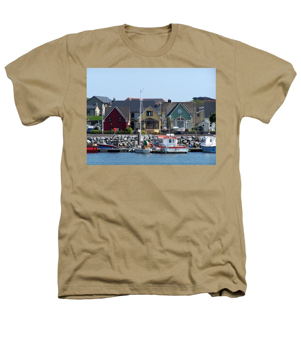 Irish Heathers T-Shirt featuring the photograph Summer Cottages Dingle Ireland by Teresa Mucha