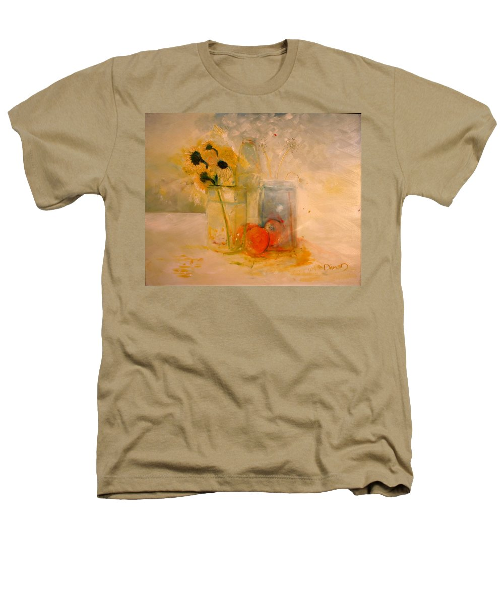 Daisey Heathers T-Shirt featuring the painting Summer Light by Jack Diamond