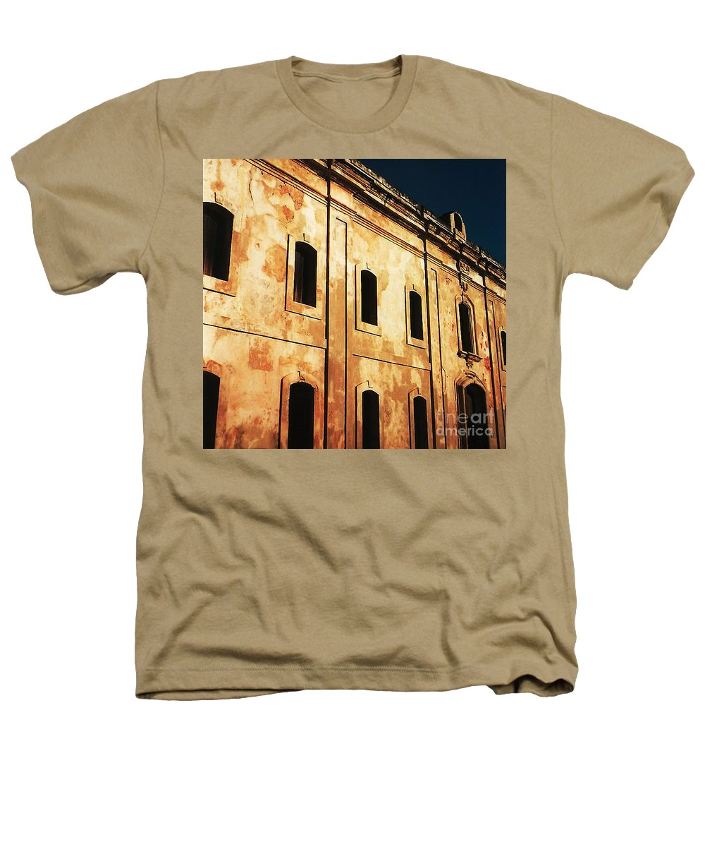 Buildings Heathers T-Shirt featuring the photograph Sun Kissed by Jeff Barrett