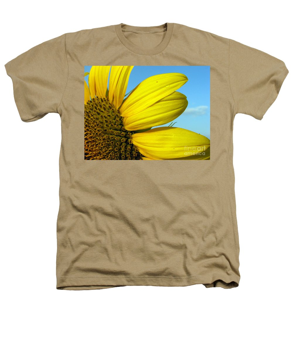 Sunflowers Heathers T-Shirt featuring the photograph Sunflower by Amanda Barcon