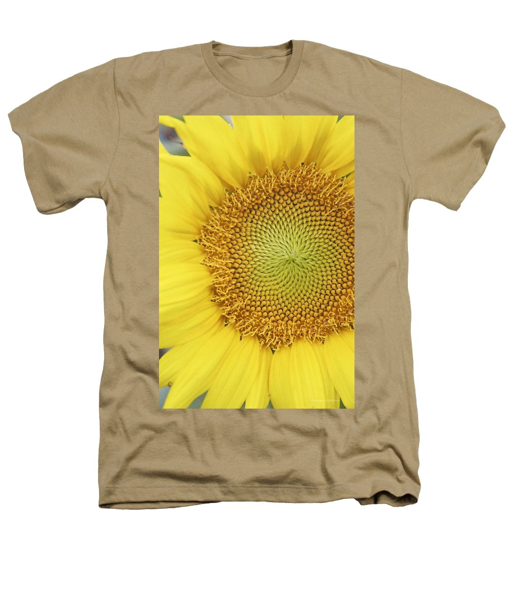 Sunflower Heathers T-Shirt featuring the photograph Sunflower by Margie Wildblood