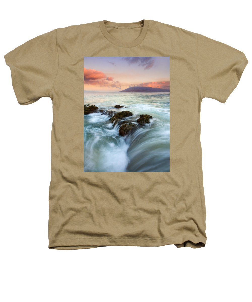 Sunrise Heathers T-Shirt featuring the photograph Sunrise Drain by Mike Dawson