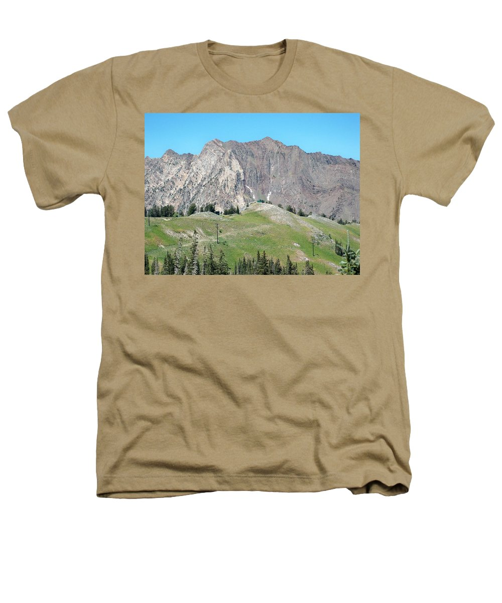 Landscape Heathers T-Shirt featuring the photograph Superior by Michael Cuozzo