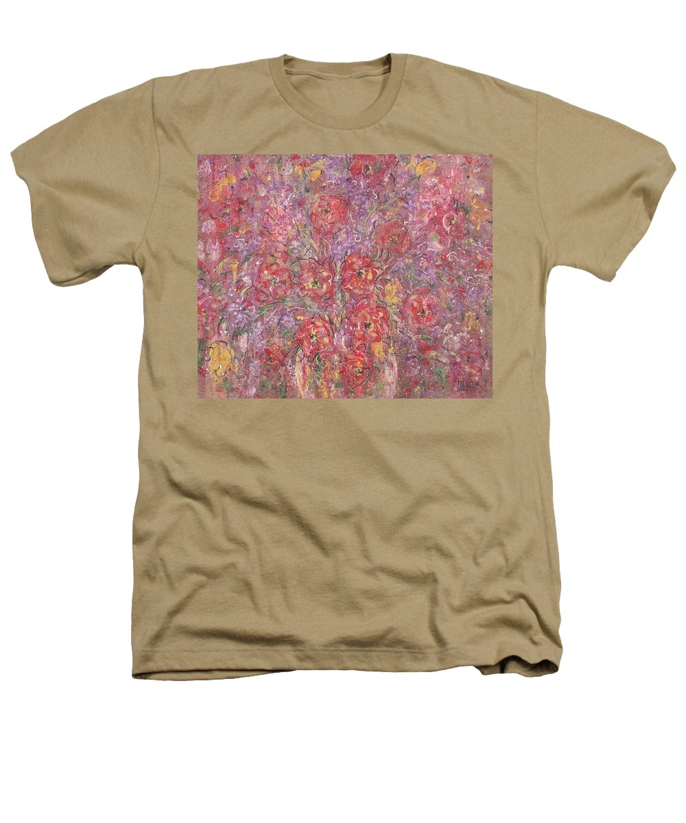 Still Life Heathers T-Shirt featuring the painting Sweet Memories by Natalie Holland