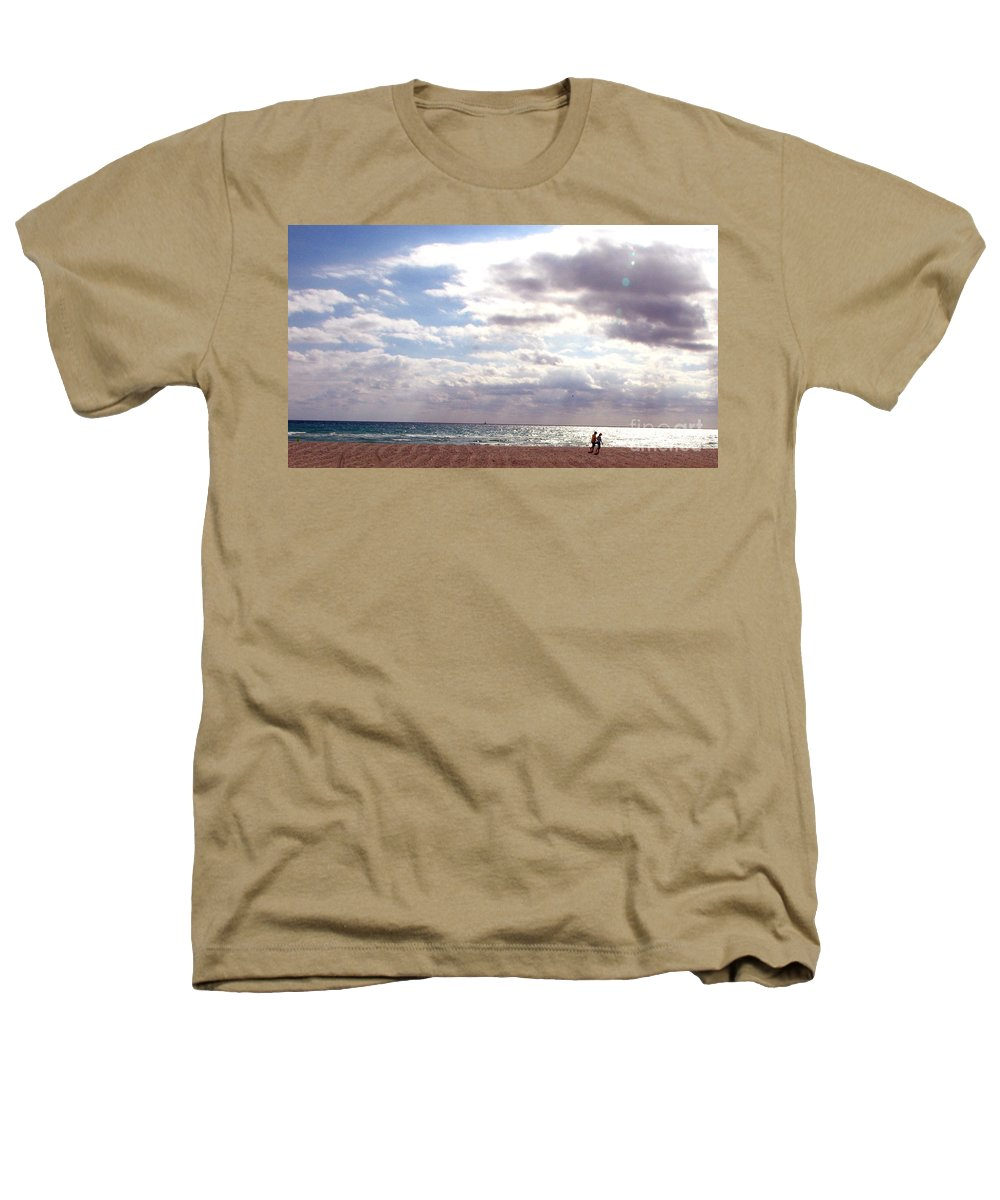Walking Heathers T-Shirt featuring the photograph Taking A Walk by Amanda Barcon