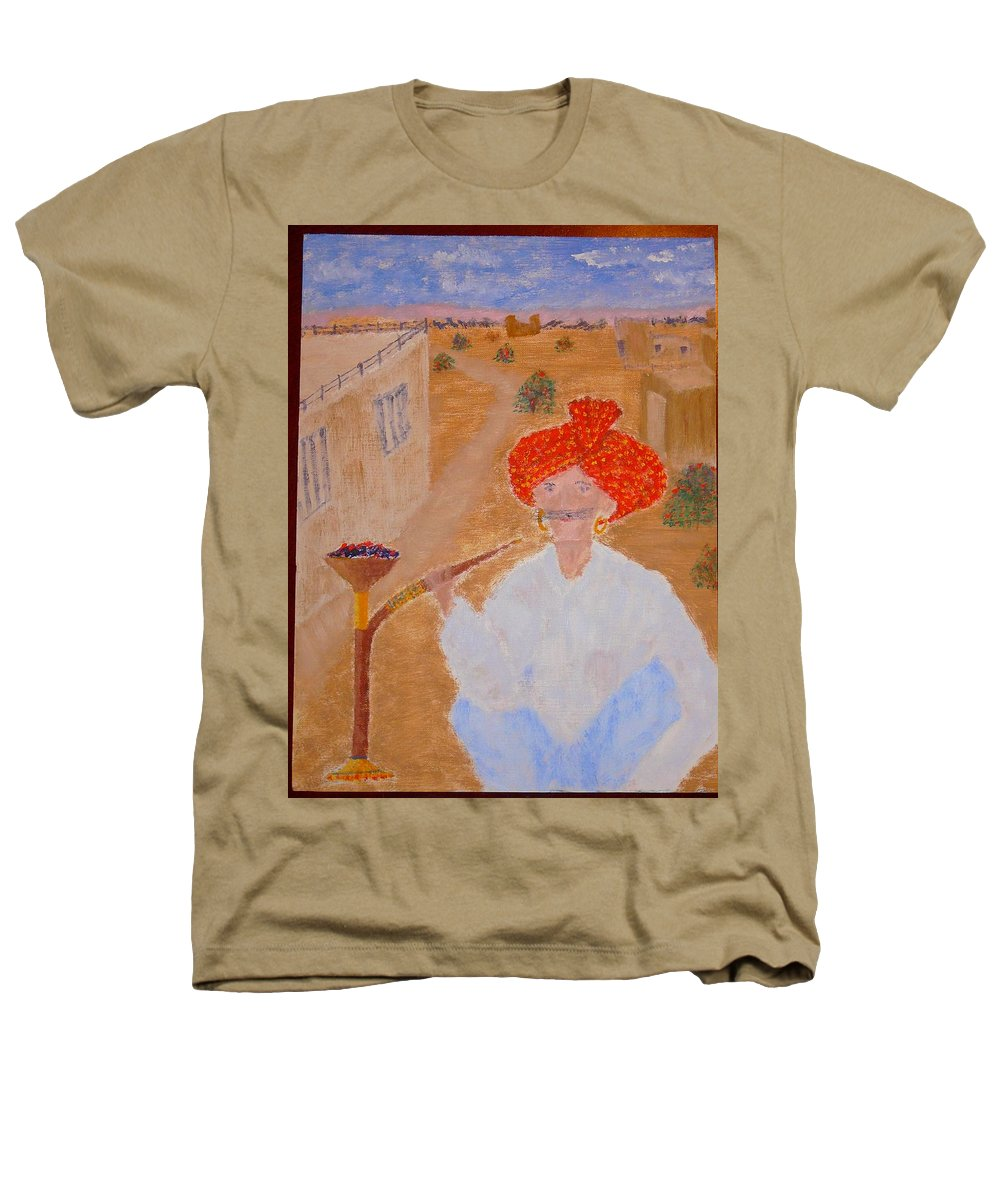 People Heathers T-Shirt featuring the painting Tau by R B