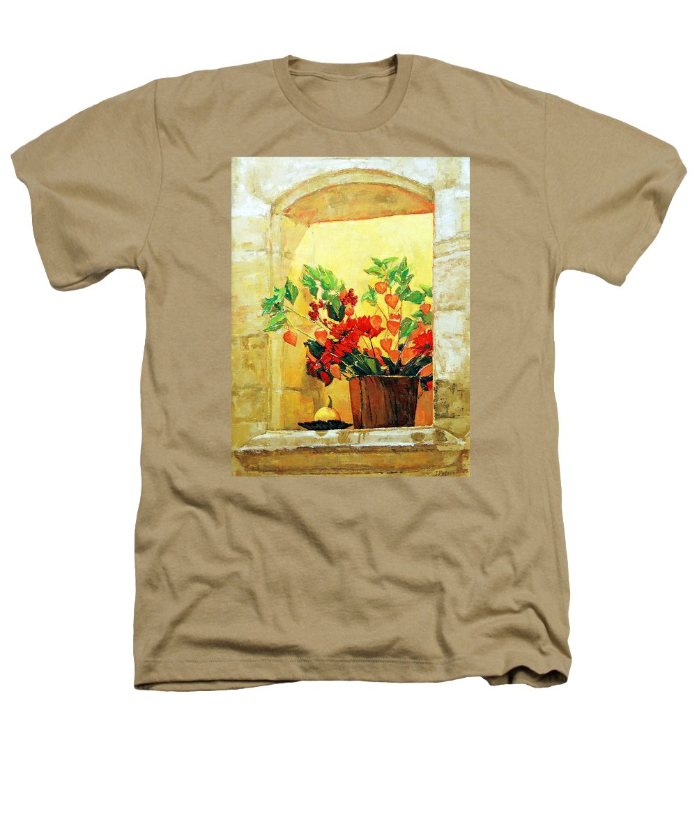 Still Life Heathers T-Shirt featuring the painting The Light by Iliyan Bozhanov