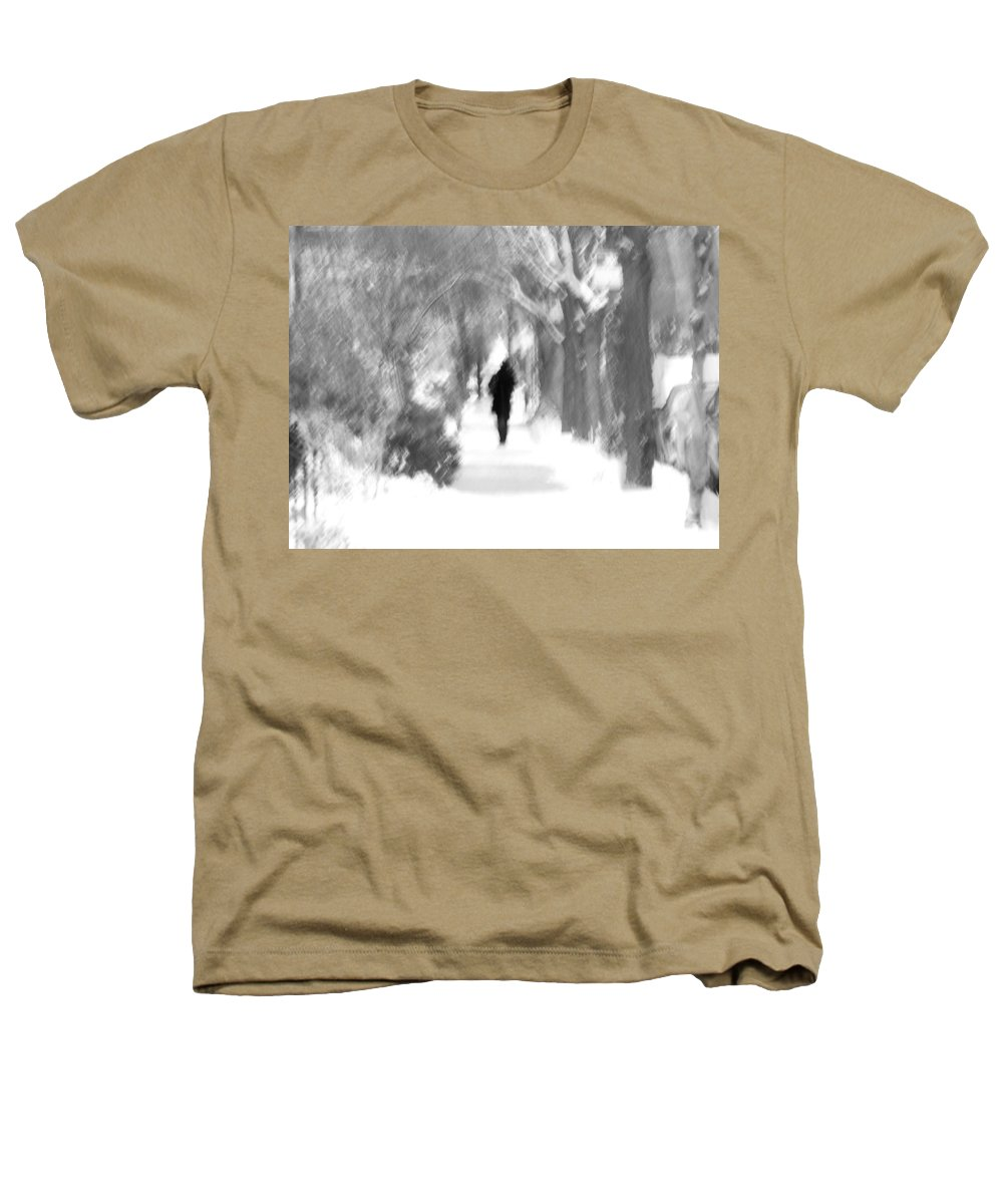 Blur Heathers T-Shirt featuring the photograph The Long December by Dana DiPasquale