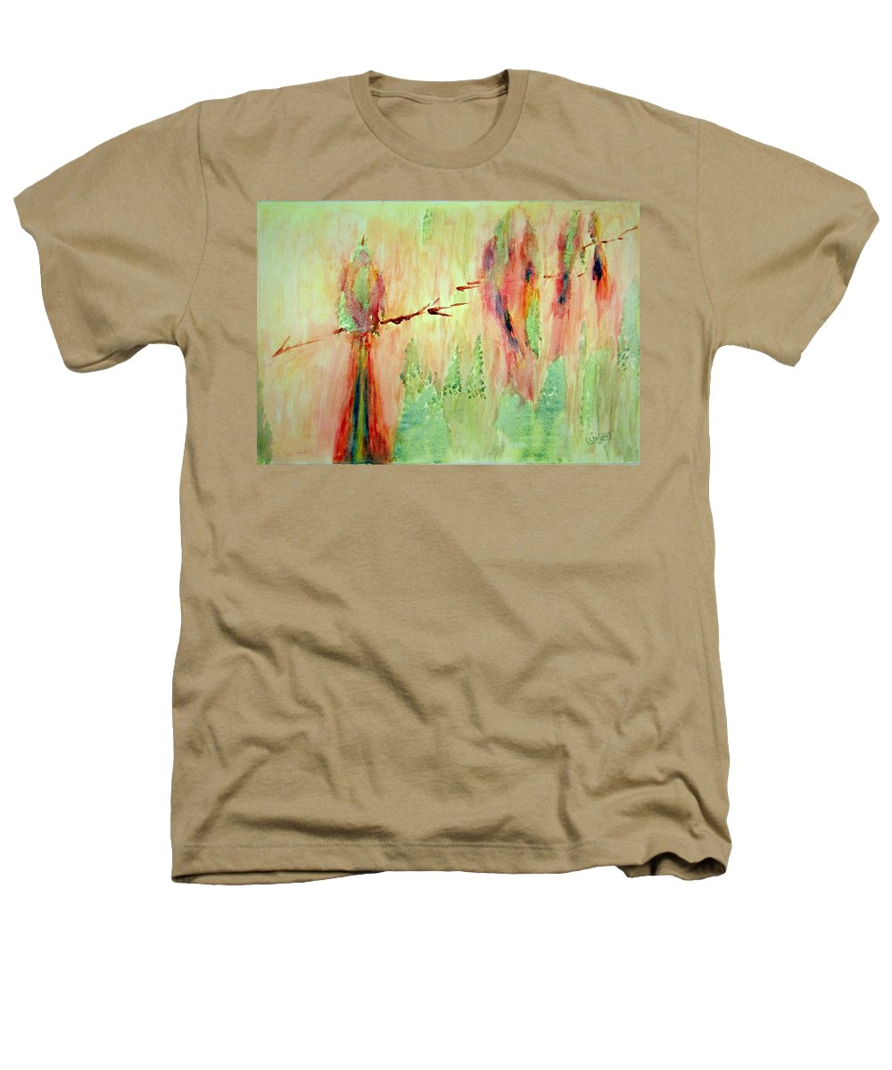 Abstract Art Heathers T-Shirt featuring the painting This Must Be A Dream by Larry Wright