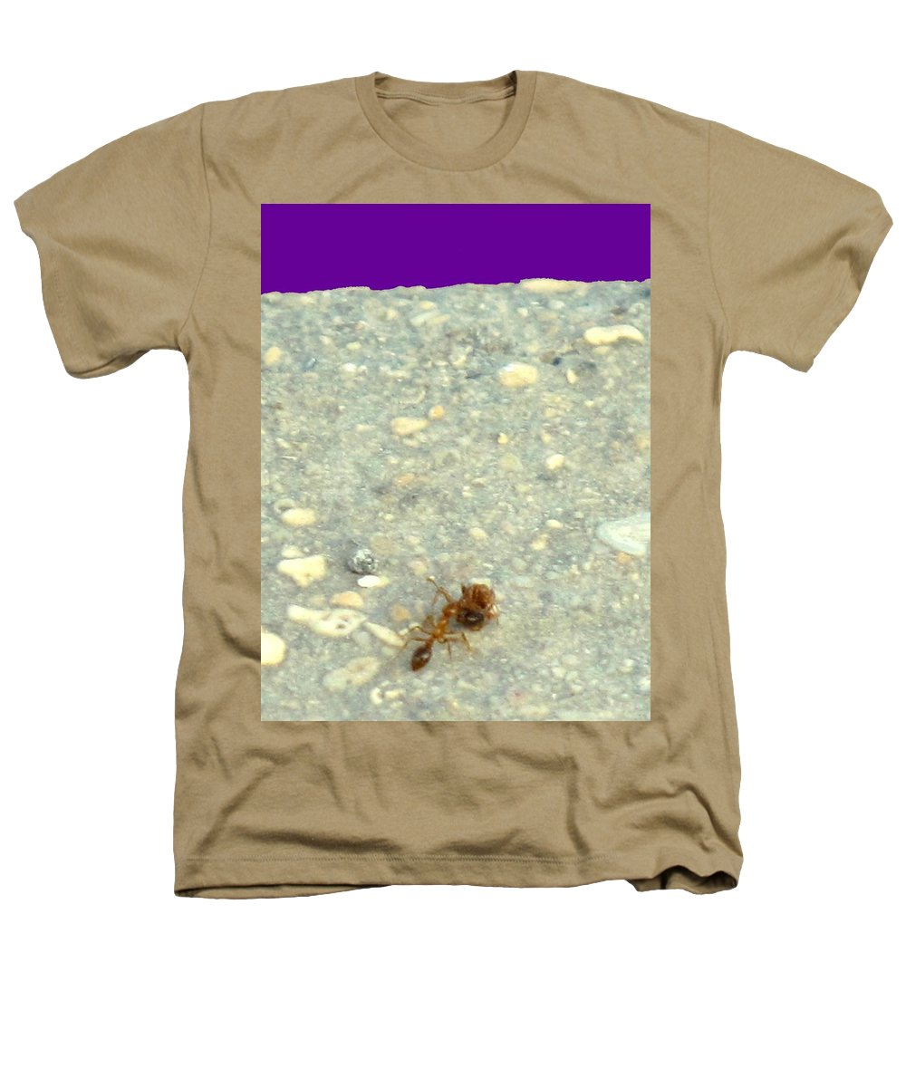 Ant Heathers T-Shirt featuring the photograph To The Edge by Ian MacDonald