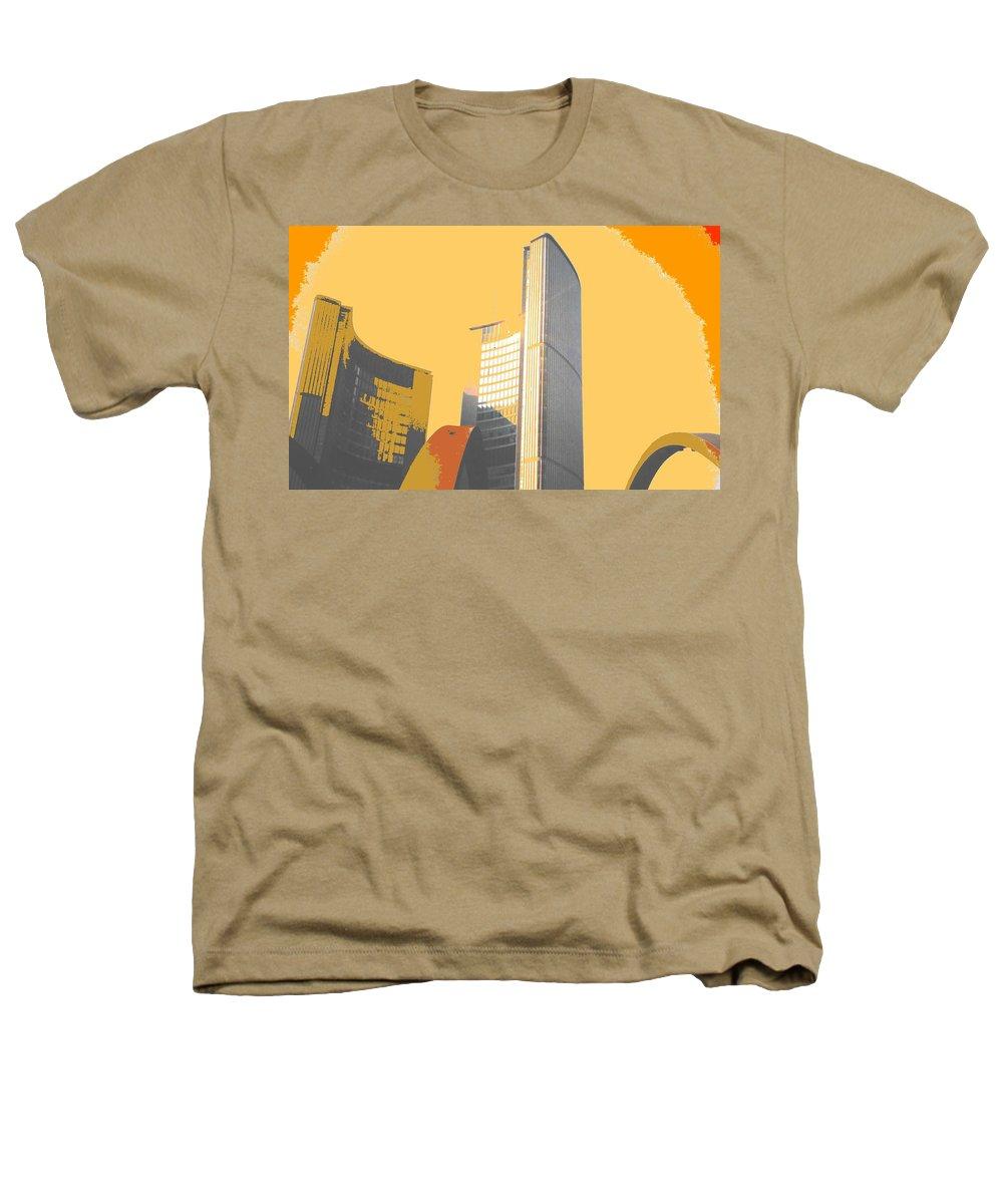 Toronto Heathers T-Shirt featuring the photograph Toronto City Hall Arches by Ian MacDonald