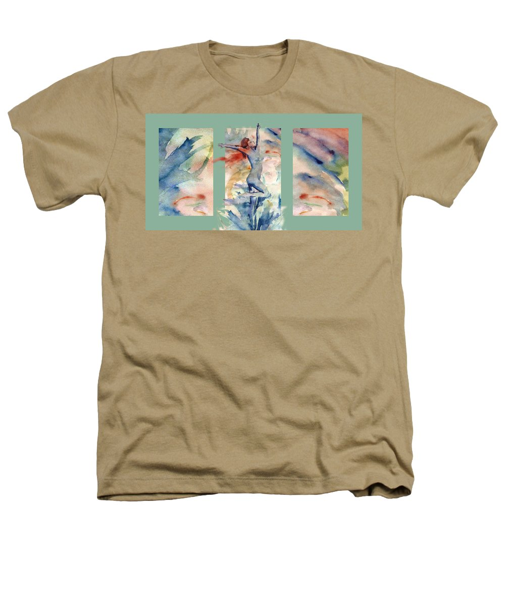 Abstract Heathers T-Shirt featuring the painting Tribute by Steve Karol