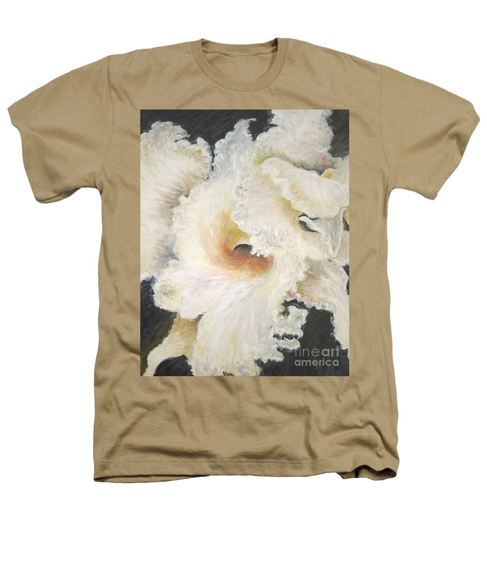 Flower Heathers T-Shirt featuring the painting Tropical Flowers by Nadine Rippelmeyer