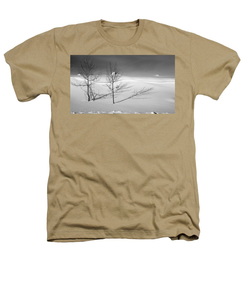 Nature Heathers T-Shirt featuring the photograph Twins by Skip Hunt