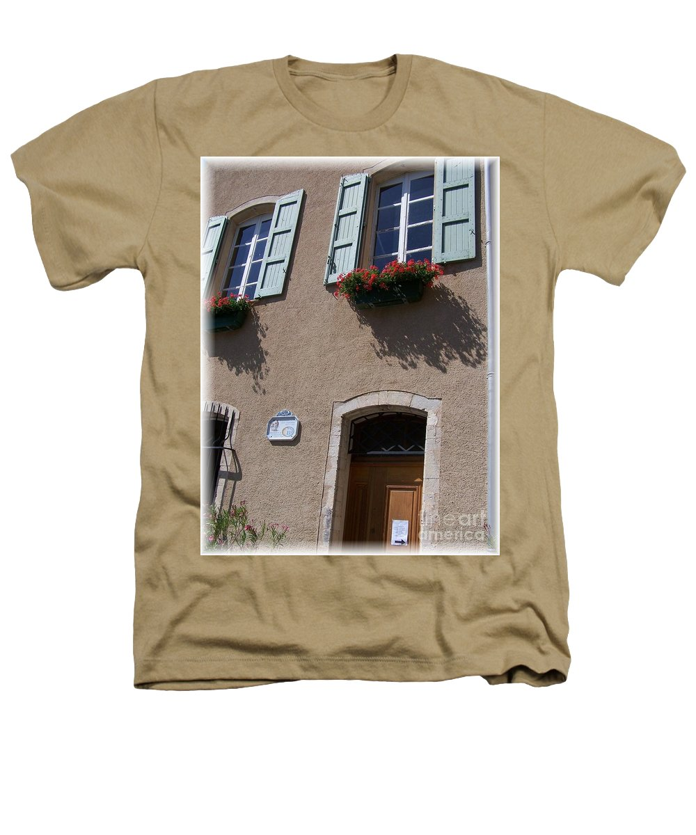 House Heathers T-Shirt featuring the photograph Un Maison by Nadine Rippelmeyer