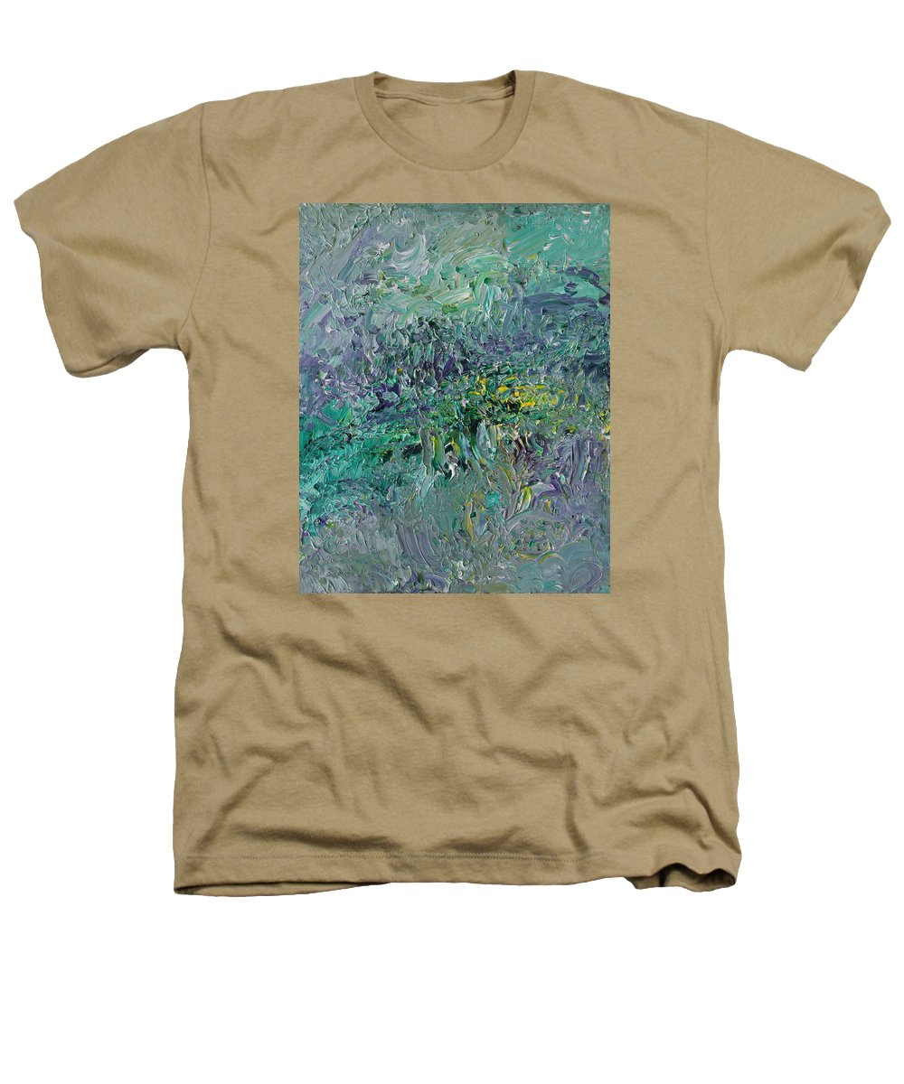 Fusionart Heathers T-Shirt featuring the painting Blind Giverny by Ralph White