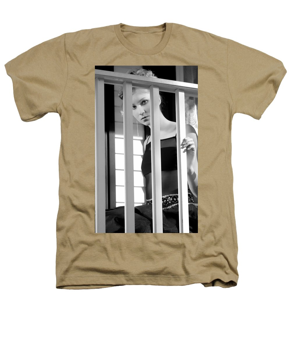 Clay Heathers T-Shirt featuring the photograph Watching by Clayton Bruster