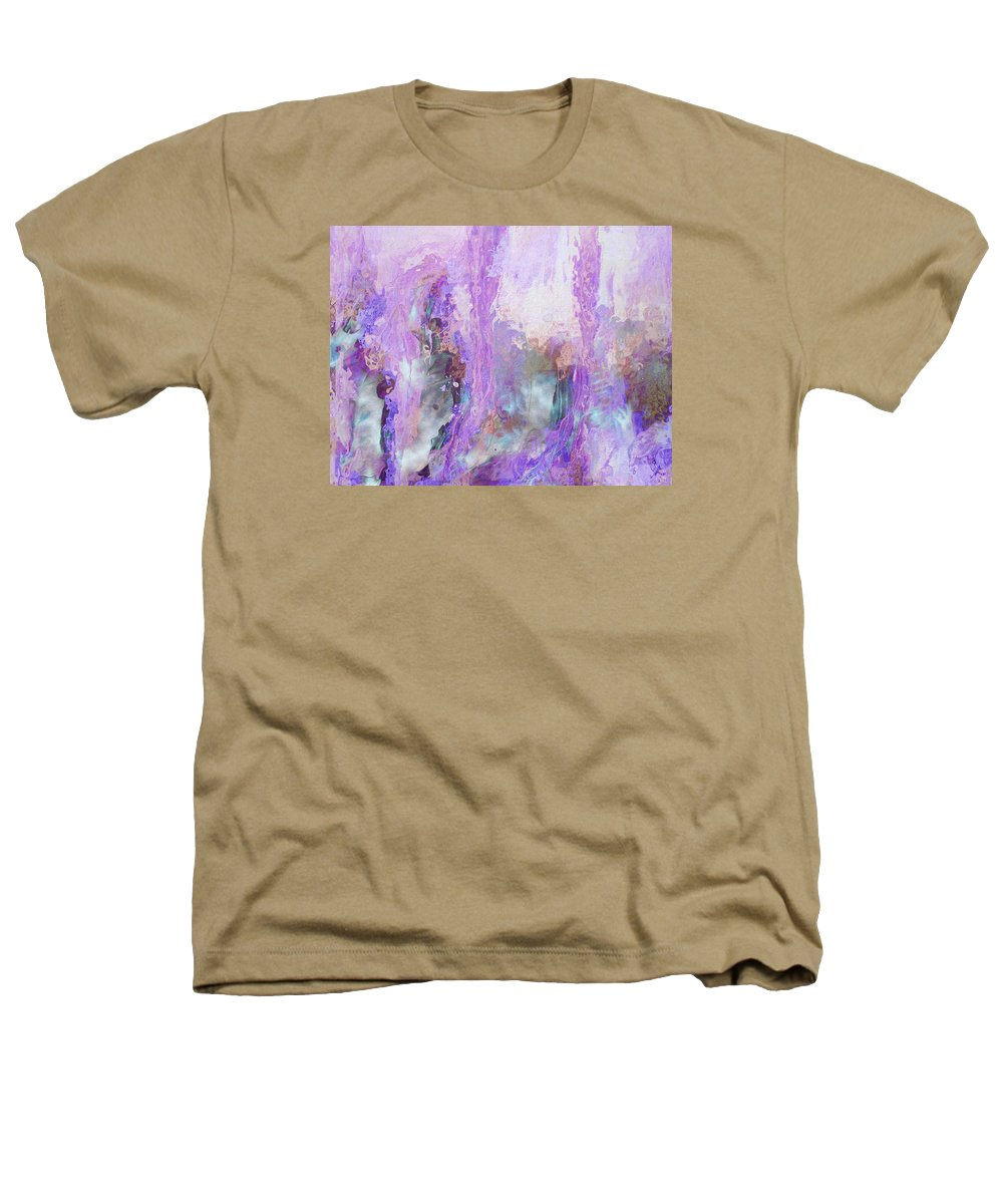 Abstract Art Heathers T-Shirt featuring the digital art Whisper Softly by Linda Murphy