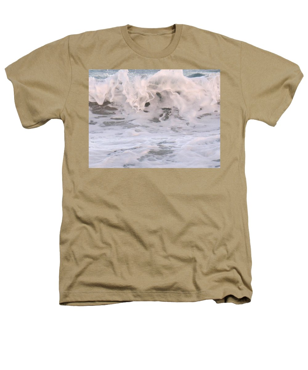 Surf Heathers T-Shirt featuring the photograph Wild Surf by Ian MacDonald