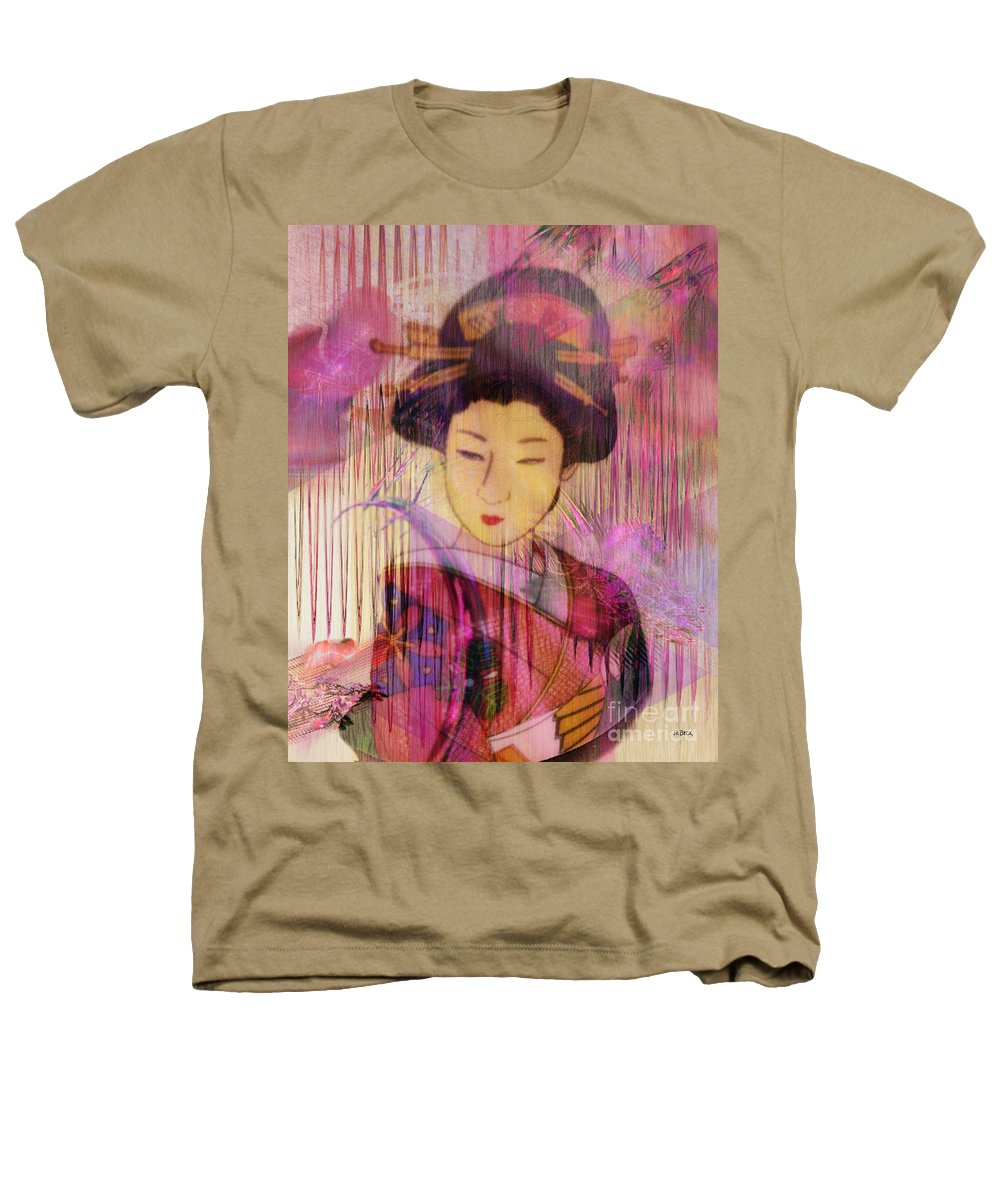 Willow World Heathers T-Shirt featuring the digital art Willow World by John Beck
