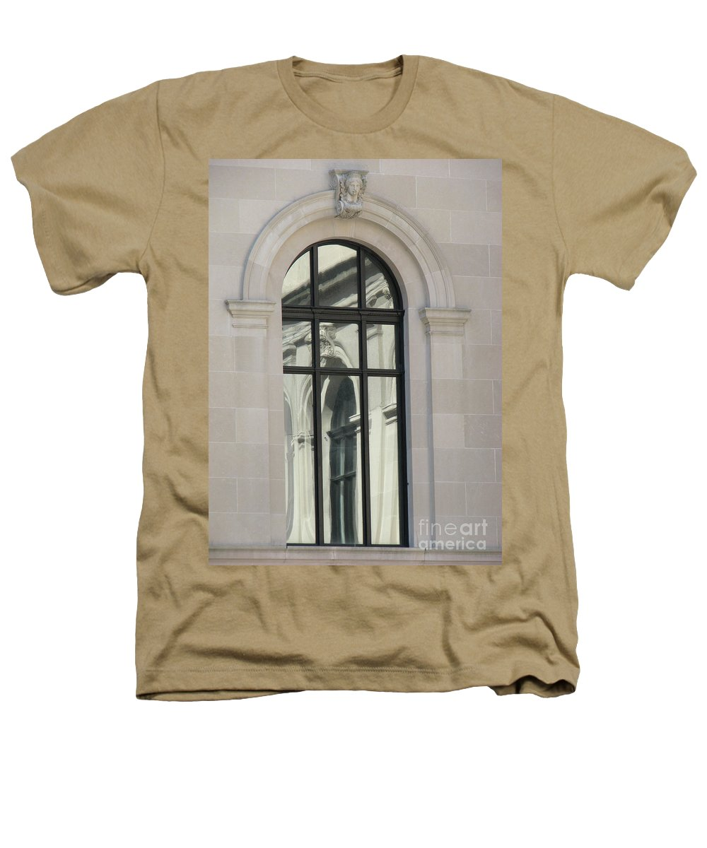 Windows Heathers T-Shirt featuring the photograph Window by Amanda Barcon