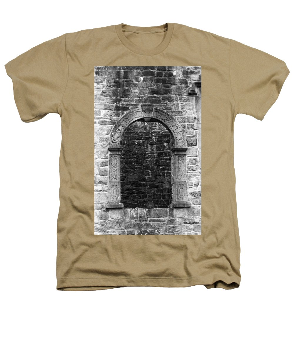 Irish Heathers T-Shirt featuring the photograph Window At Donegal Castle Ireland by Teresa Mucha