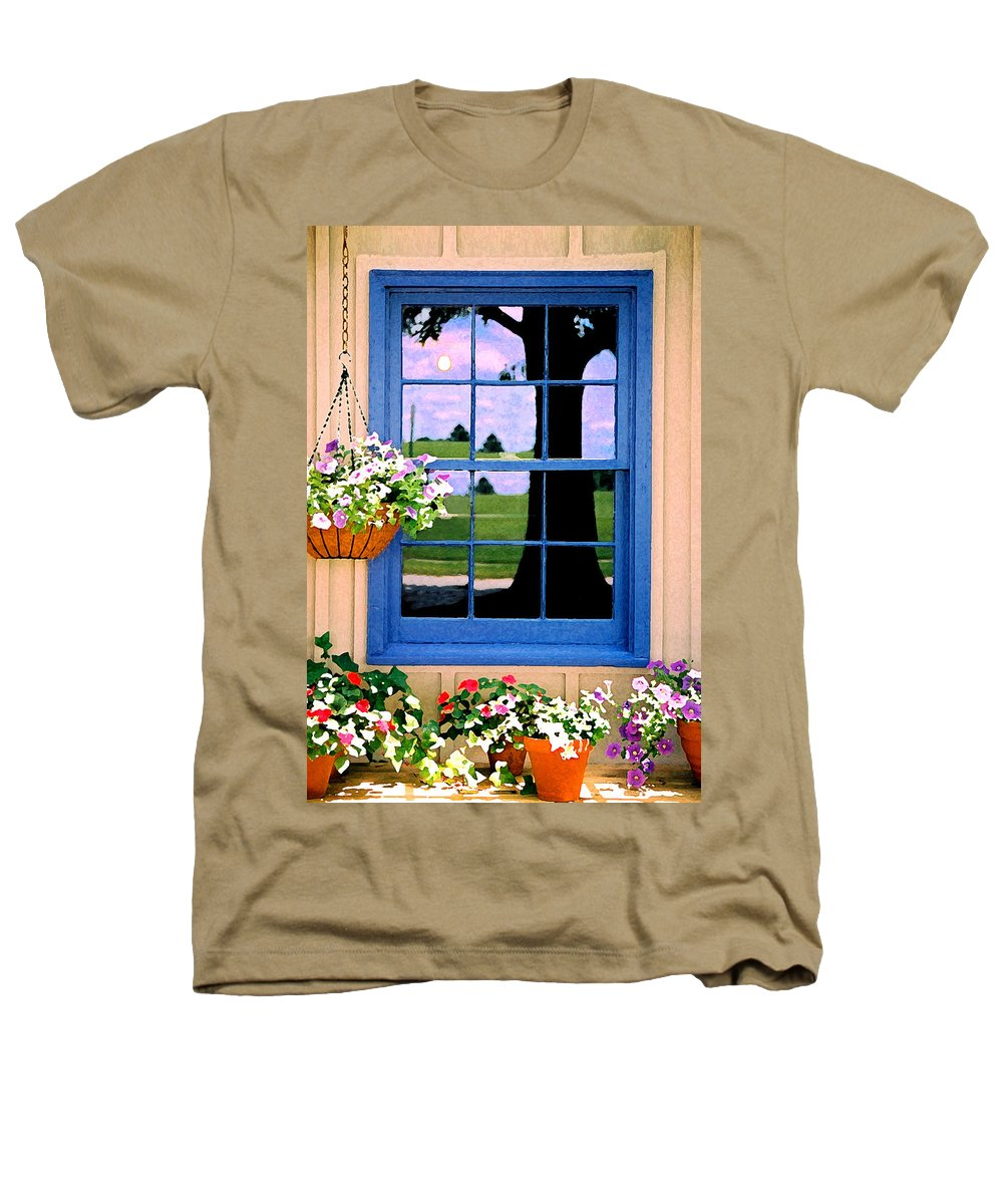 Still Life Heathers T-Shirt featuring the photograph Window by Steve Karol