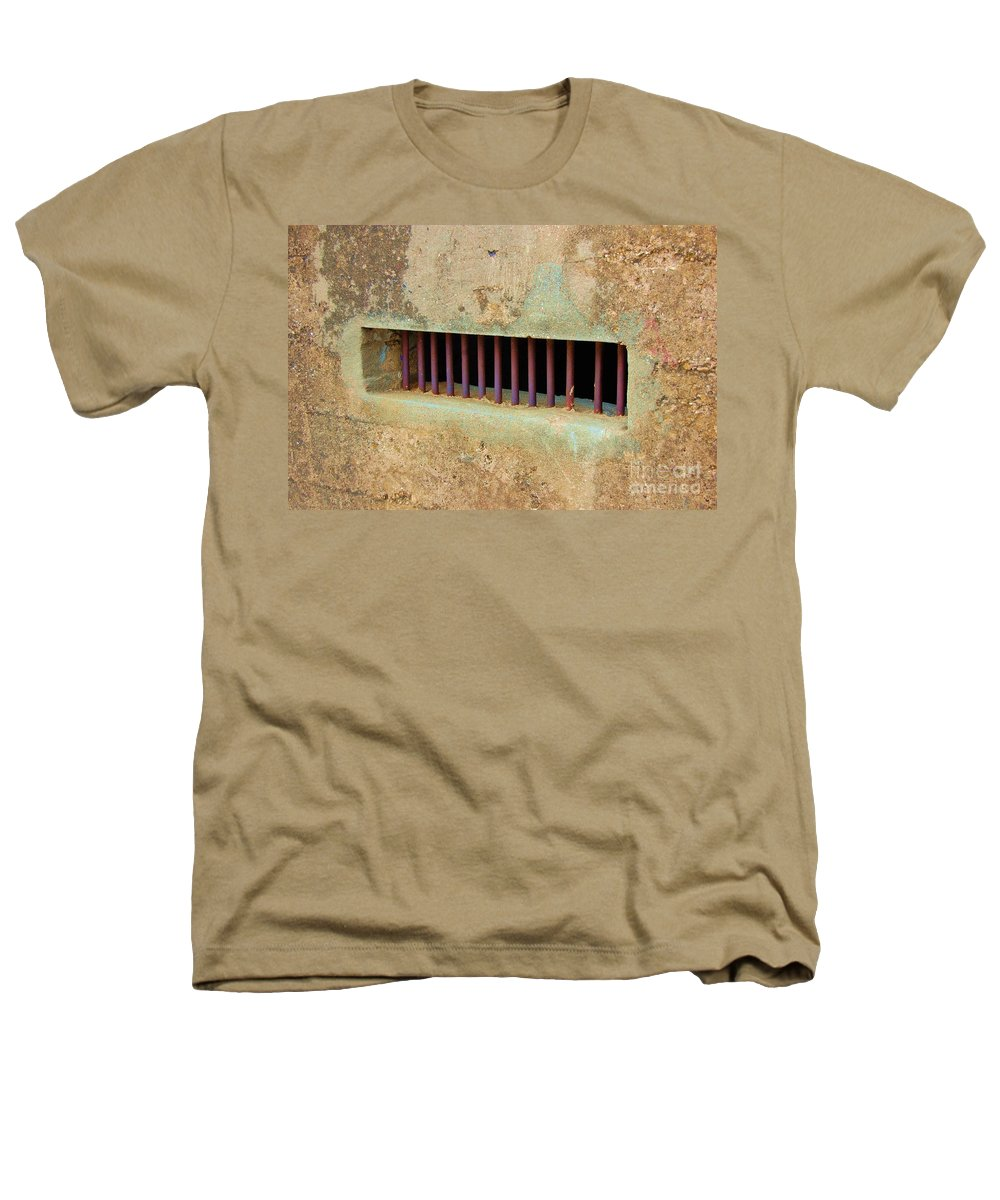 Jail Heathers T-Shirt featuring the photograph Window To The World by Debbi Granruth