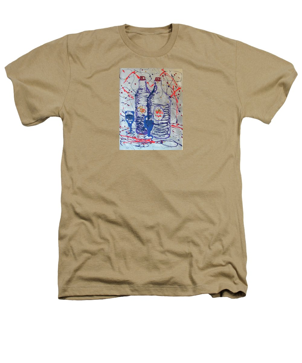 Impressionist Painting Heathers T-Shirt featuring the painting Wine Jugs by J R Seymour