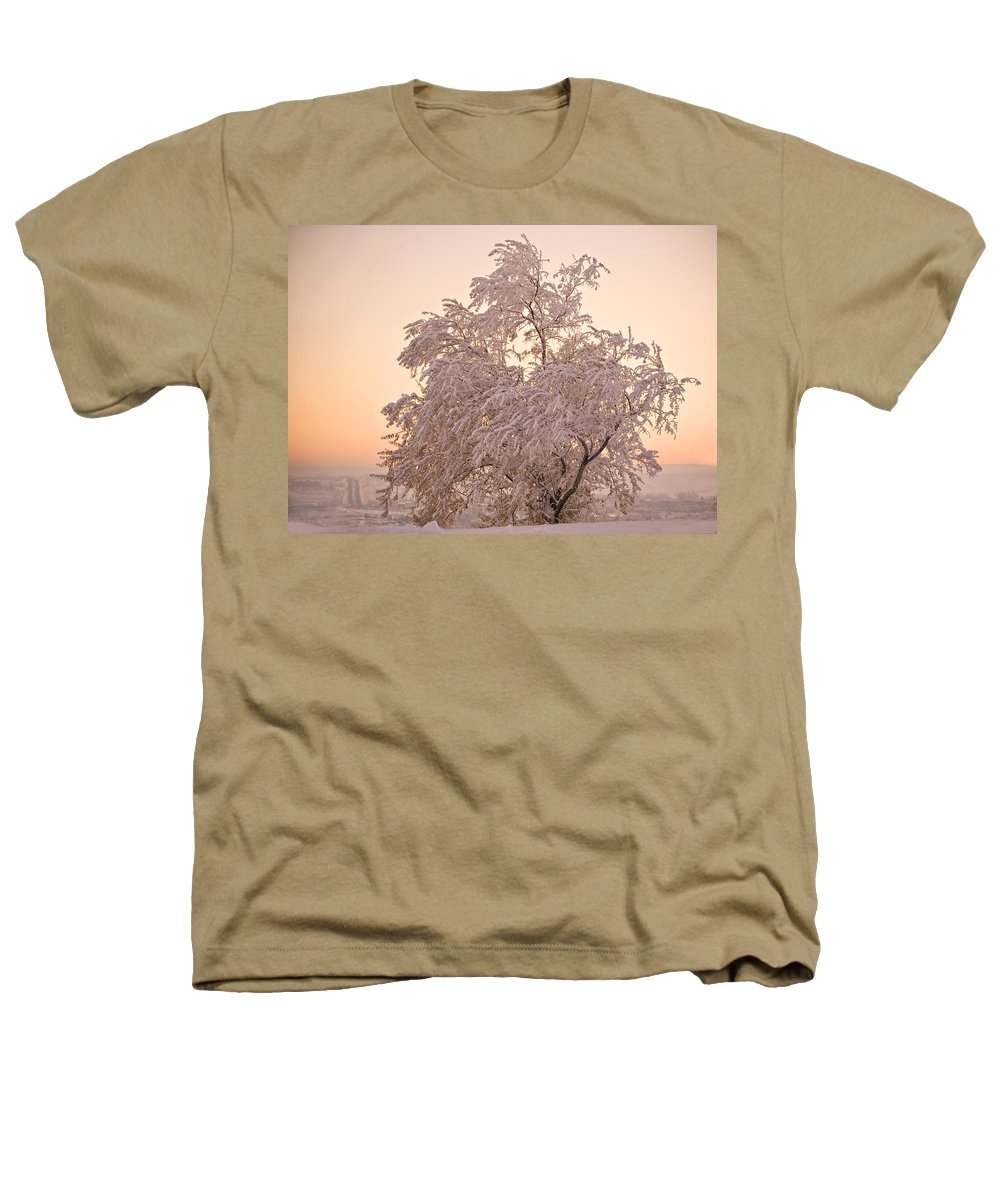 Winter Heathers T-Shirt featuring the photograph Winter Sunset by Marilyn Hunt