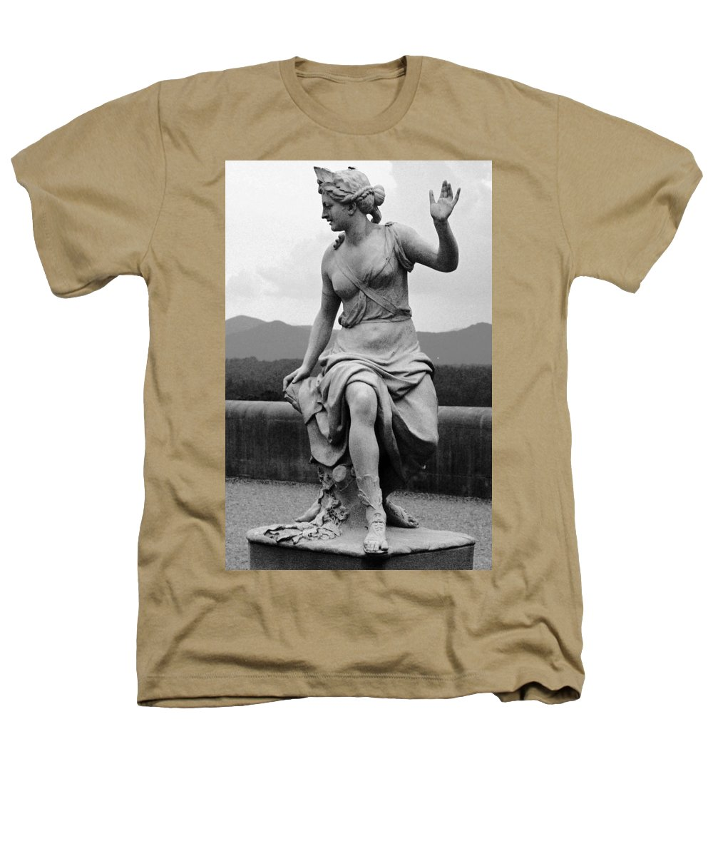 Figurative Heathers T-Shirt featuring the photograph Woman Sculpture Nc by Eric Schiabor