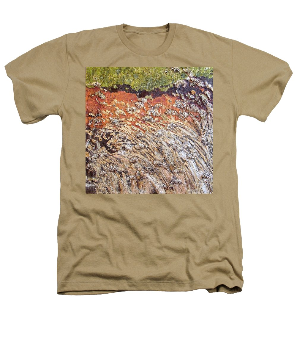 Abstract Heathers T-Shirt featuring the painting Yearning by Piety Choi