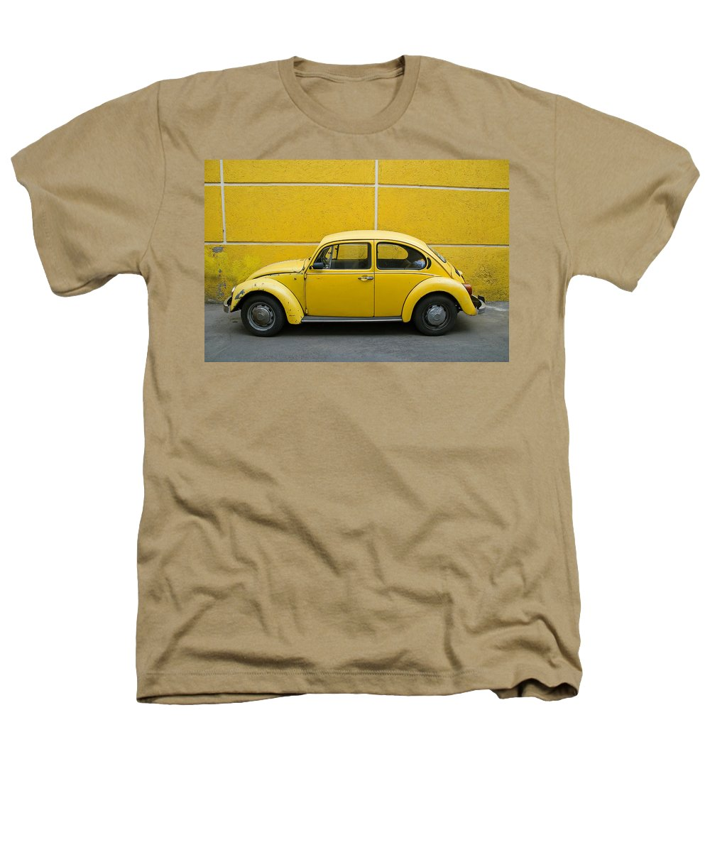Yellow Heathers T-Shirt featuring the photograph Yellow Bug by Skip Hunt