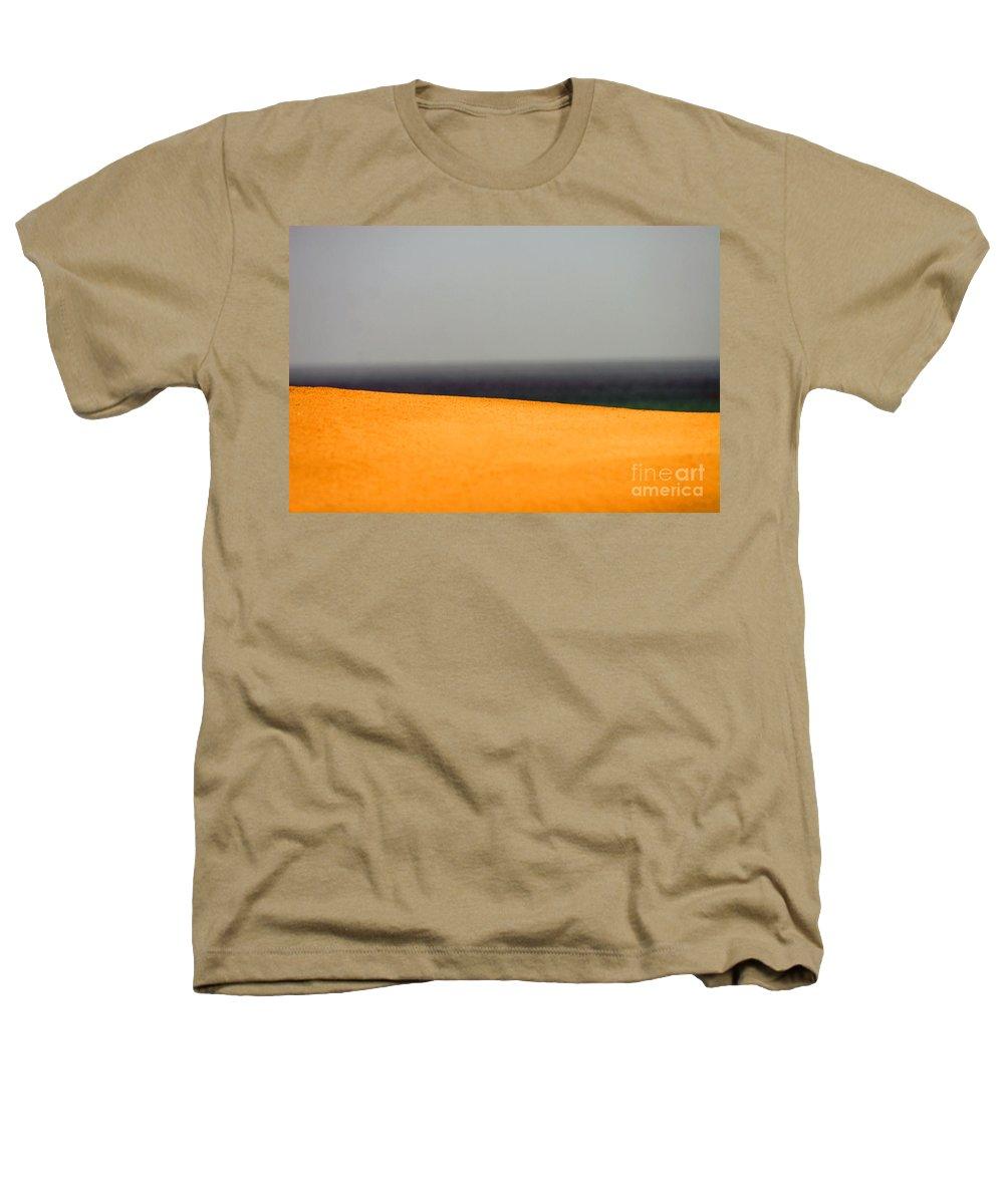 Yellow Heathers T-Shirt featuring the photograph Yellow Horizon by Hana Shalom