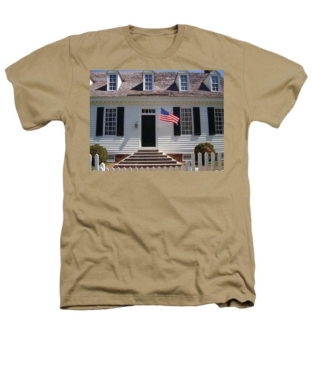 Yorktown Heathers T-Shirt featuring the photograph Yorktown II by Flavia Westerwelle