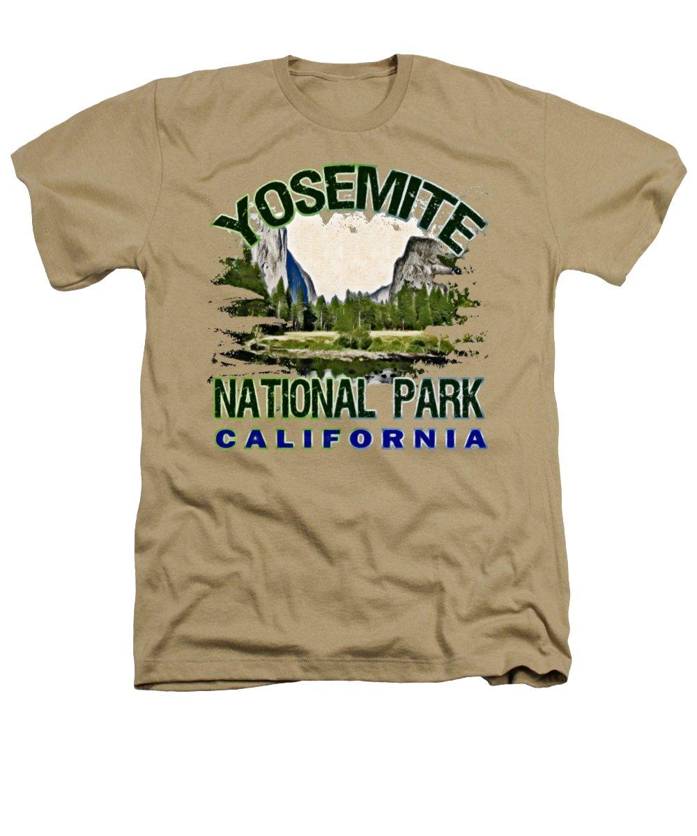 Yosemite National Park Heathers T-Shirts