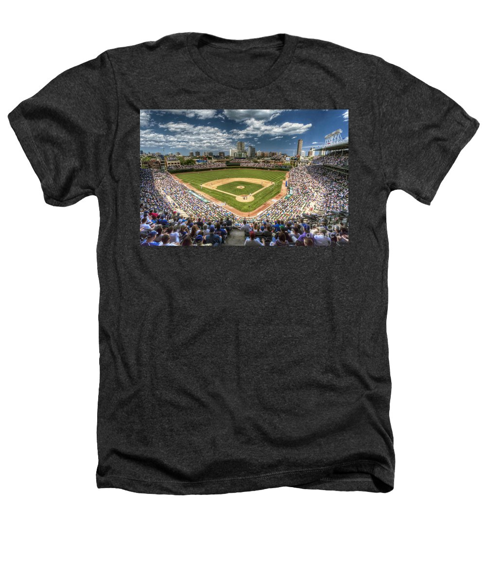 Wrigley Field Heathers T-Shirts