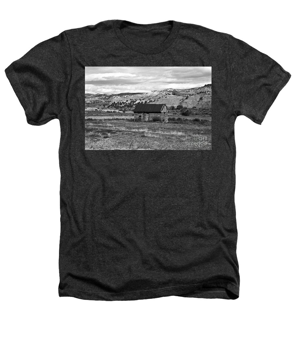 Utah Heathers T-Shirt featuring the photograph Courage by Kathy McClure