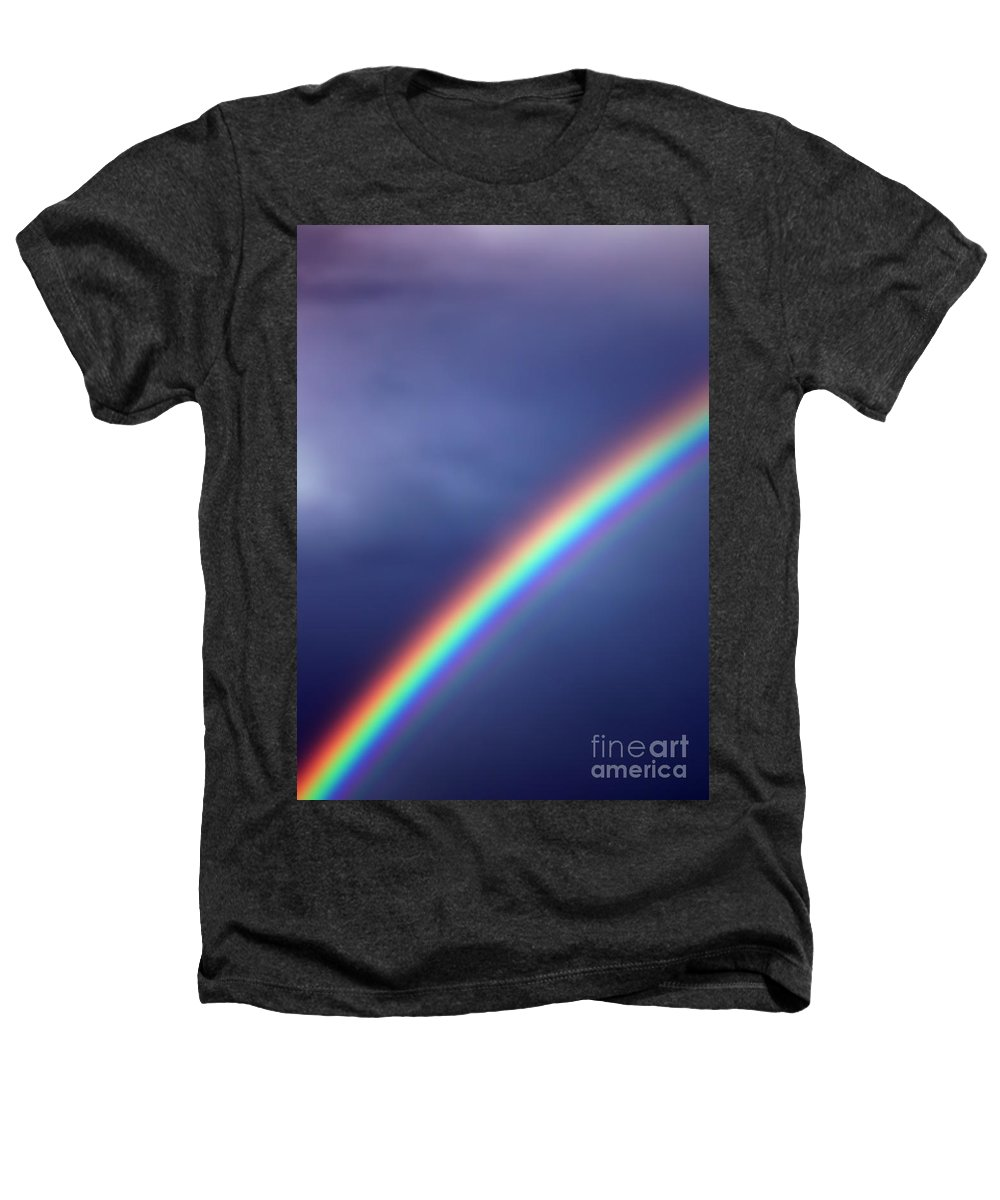 Rainbow Heathers T-Shirt featuring the photograph Hold On For Hope by Amanda Barcon