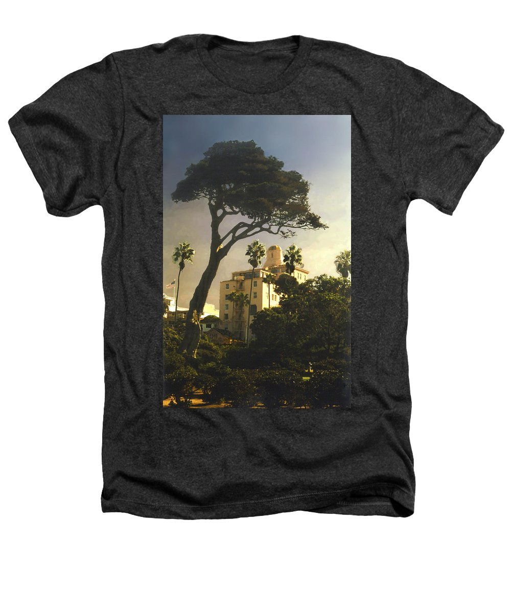 Landscape Heathers T-Shirt featuring the photograph Hotel California- La Jolla by Steve Karol