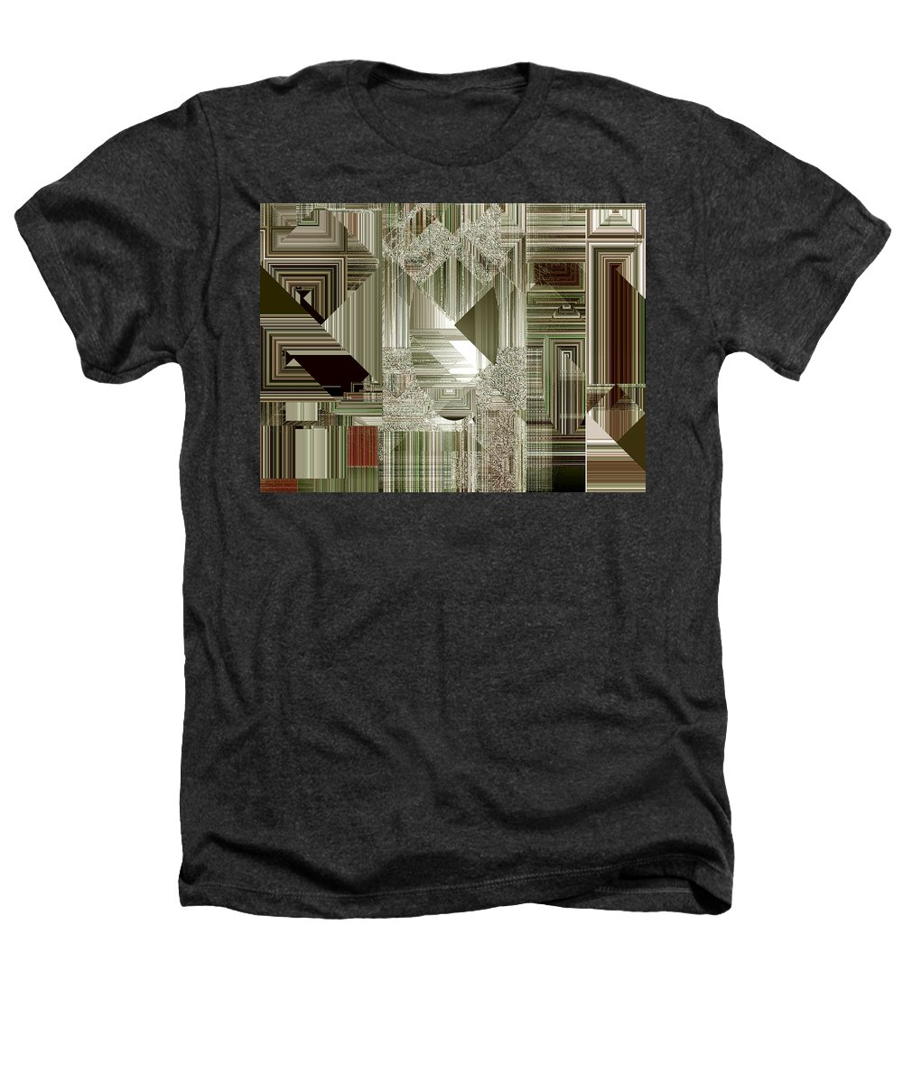 Abstract Heathers T-Shirt featuring the painting Indecision I by RC deWinter