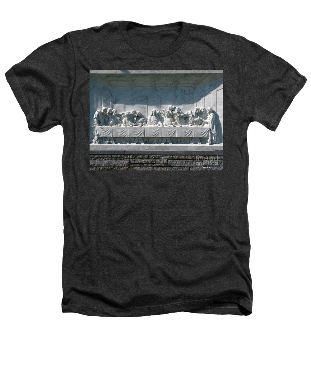 Art For The Wall...patzer Photography Heathers T-Shirt featuring the photograph Last Supper by Greg Patzer