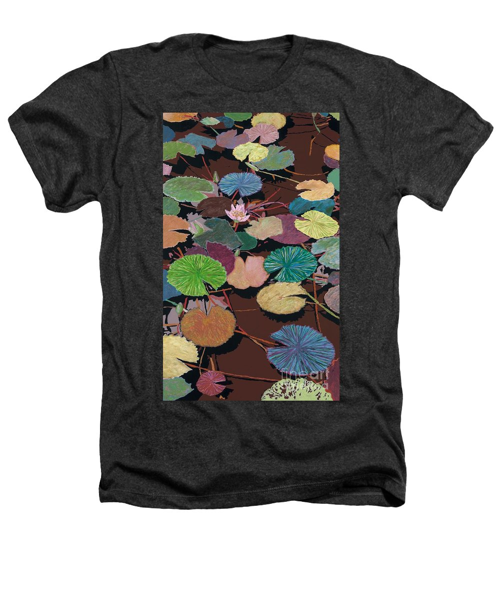 Landscape Heathers T-Shirt featuring the painting Muddy Waters by Allan P Friedlander
