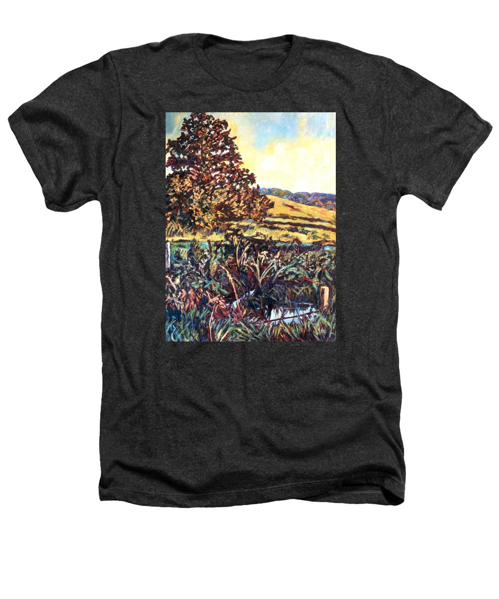 Landscape Heathers T-Shirt featuring the painting Near Childress by Kendall Kessler