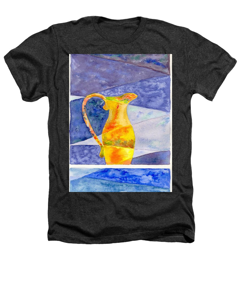 Still Life Heathers T-Shirt featuring the painting Pitcher 1 by Micah Guenther