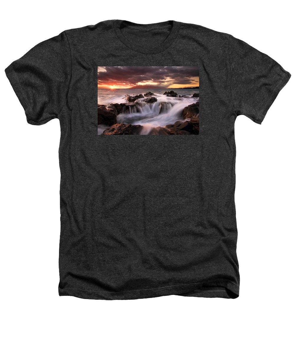 Hawaii Heathers T-Shirt featuring the photograph Tropical Cauldron by Mike Dawson