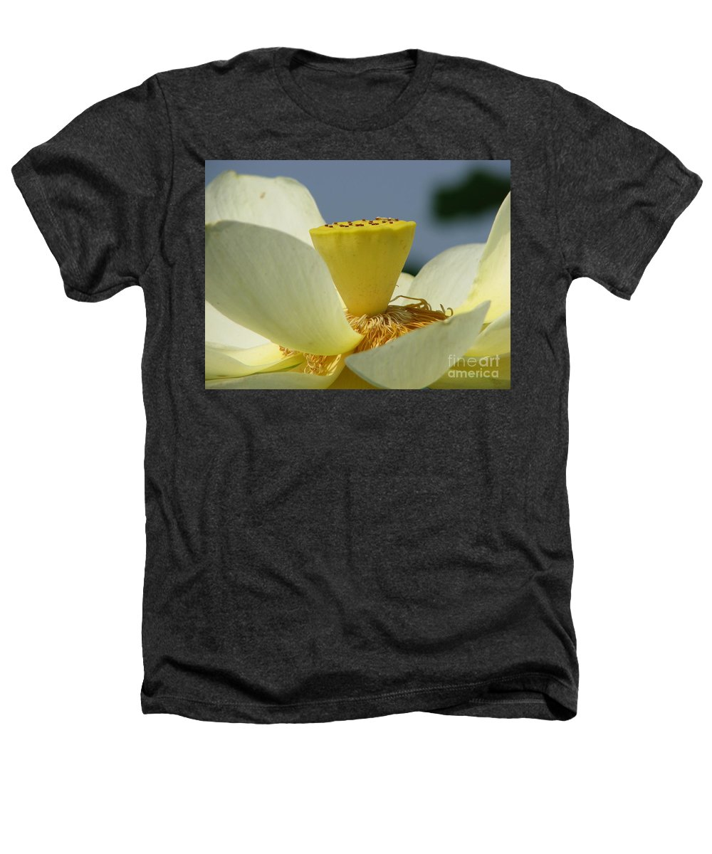 Lotus Heathers T-Shirt featuring the photograph Lotus by Amanda Barcon